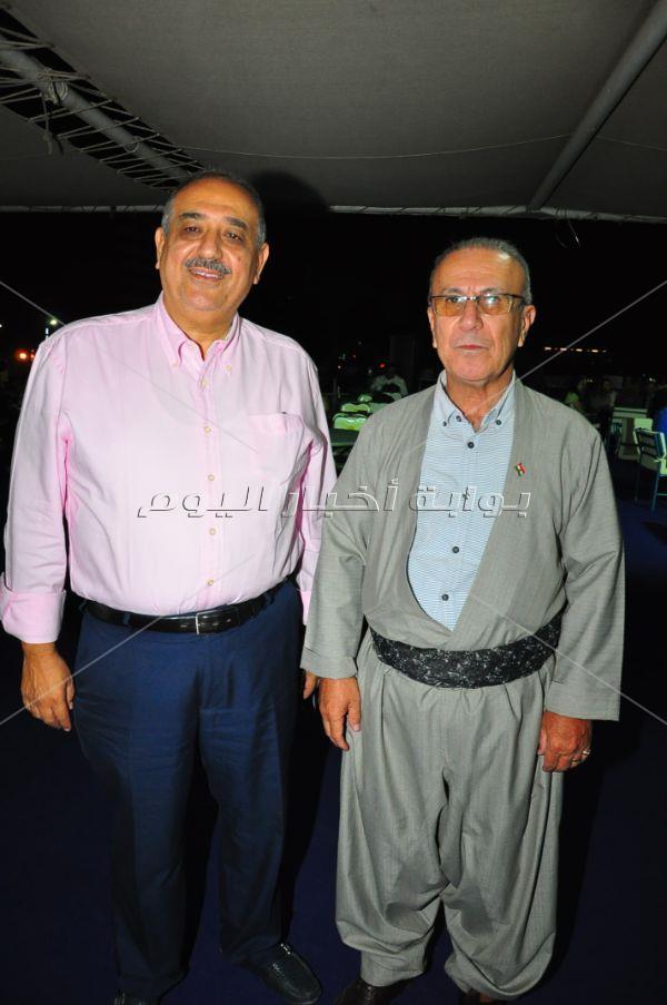 سهير المرشدي وآية عبد الله في سحور الاتحاد الوطني الكردستاني