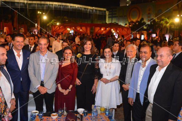 راغب علامة يتألق بحضور الوزراء والفنانين بحفل سحور إحدى الشركات