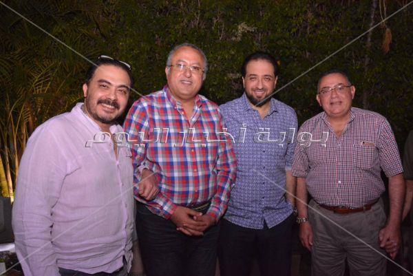 نهال عنبر وطارق المهدي في سحور محمد المصري