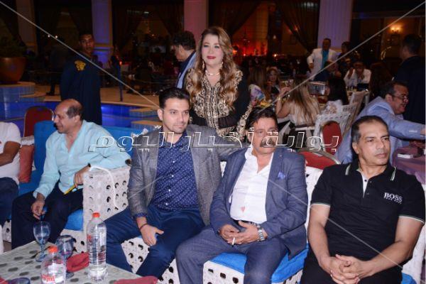 نجوم الرياضة والفن في سحور أماني عبده