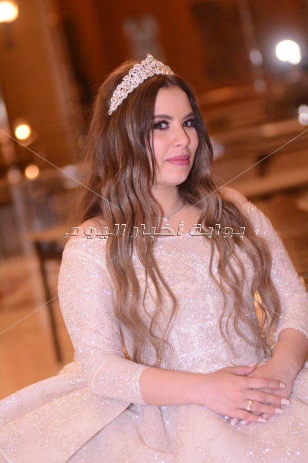 نجم الأهلي صلاح محسن يحتفل بزفافه