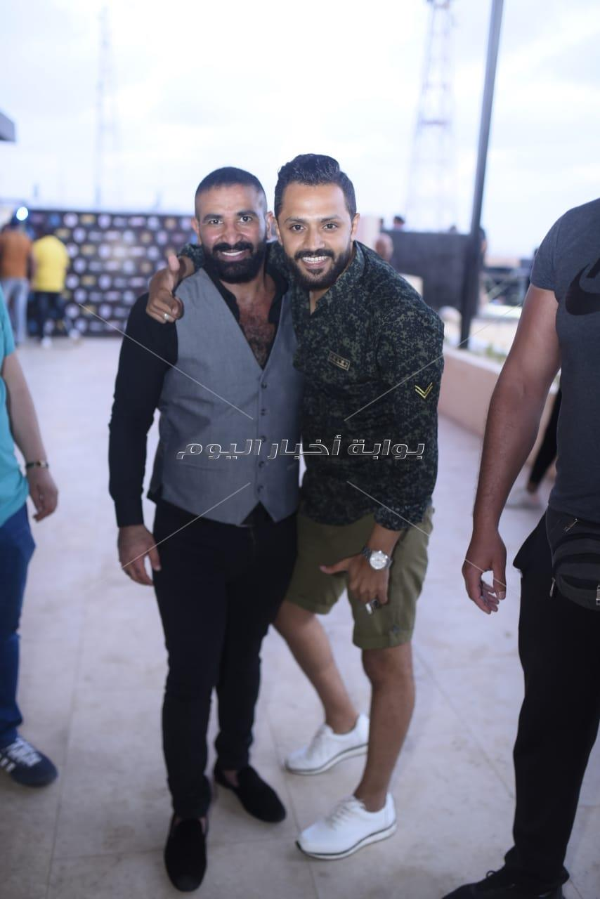 أحمد سعد وحمزة الصغير يُشعلان حفل «rai club» بالساحل الشمالي
