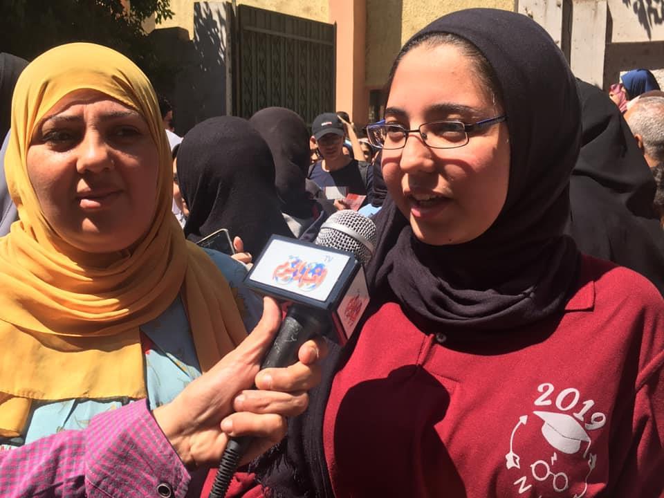 ماذا قال طلاب الثانوية العامة عن امتحان اللغة العربية بالجيزة؟