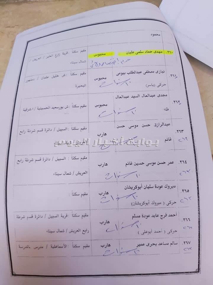 """نص الحكم علي 300 متهم بـ""""محاولة إغتيال السيسي """""""