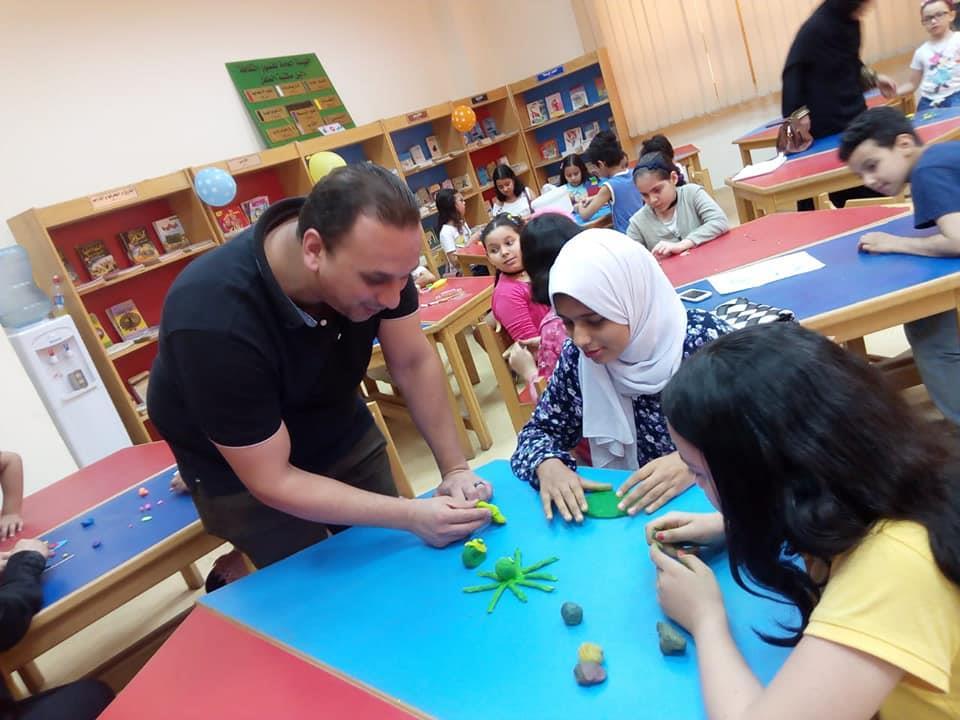 يلا نرسم ورش فنية متنوعة بثقافة كفر الشيخ