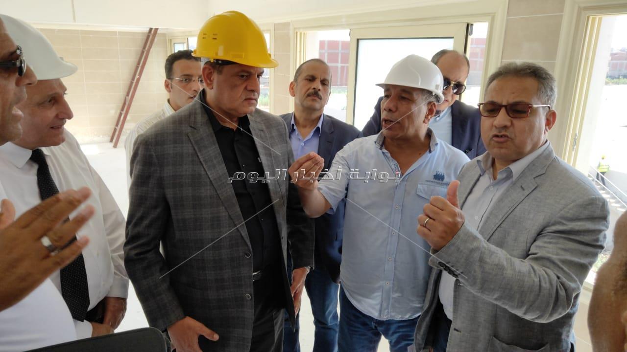 لجنة الإدارة المحلية تنهي زيارتها لمركز ومدينة كفر الدوار بتفقد مشروع توسعات محطة مياة الشرب