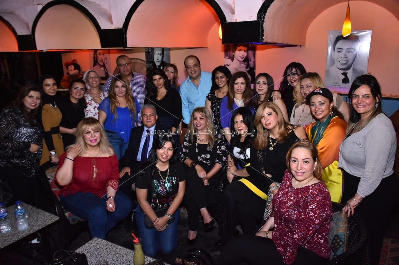 خيري رمضان ومنى الحسيني وسامح يسري في لقاء «الإعلاميون العرب»