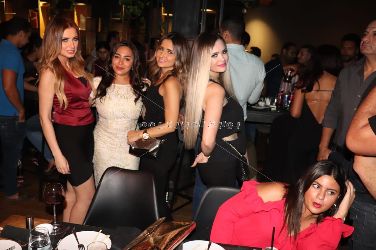 رامي صبري ومروة نصر يحتفلان بعيد ميلاد ريم رأفت