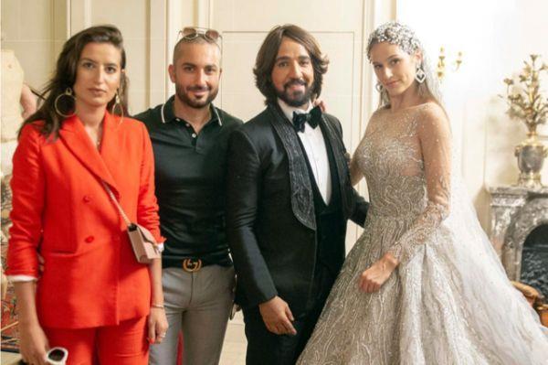 40 صورة من مشاركة هاني البحيري في «أسبوع الموضة الفرنسي» لملابس شتاء 2020