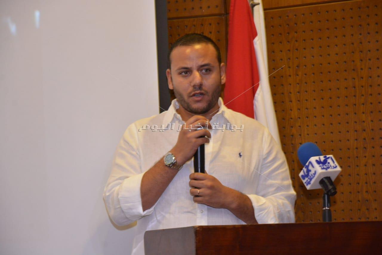 صناع السينما يشاركون في حفل تأبين المخرج محمد النجار