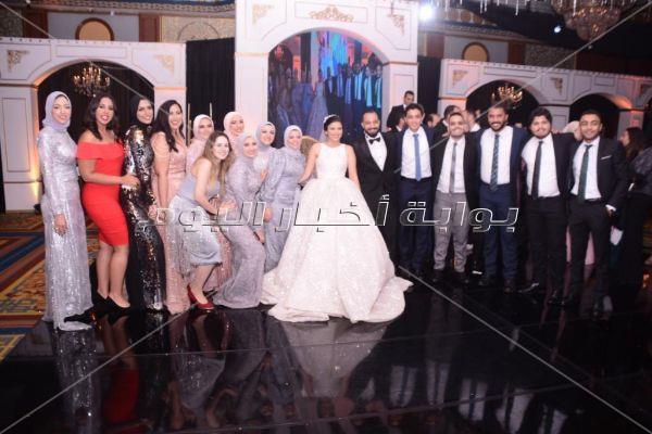 سعد الصغير وأنستازيا نجما زفاف «وائل وفيروز»