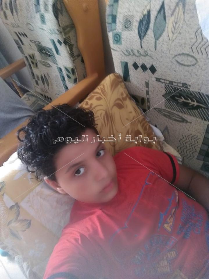صور الطفل ضحية الصعق الكهربي في حمام سباحة بالمرج