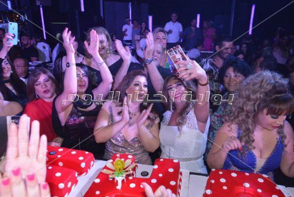 أحمد سلامة وليلى غفران يحتفلان بعيد ميلاد نهال أحمد