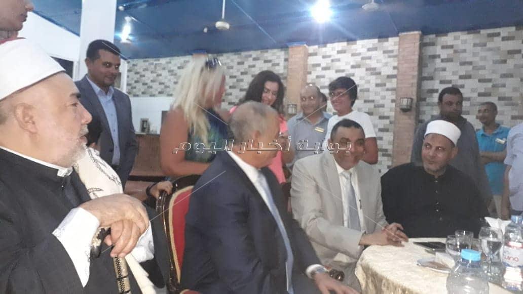 صور| جابر طابع يحتفل بزفاف كريمته «سارة» في الغردقة