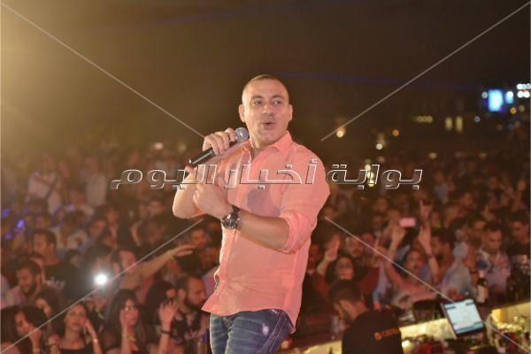 دياب يُشعل حفله في الساحل الشمالي بأغانيه المميزة