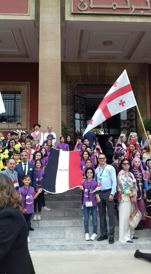 مصر تشارك مع 33 دوله في المهرجان الدولي اطفال السلام بالمغرب