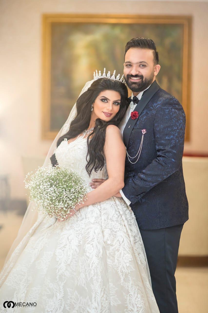 محمد شاهين وسراج يحتفلان بعقد قران المخرج إسلام الفولي