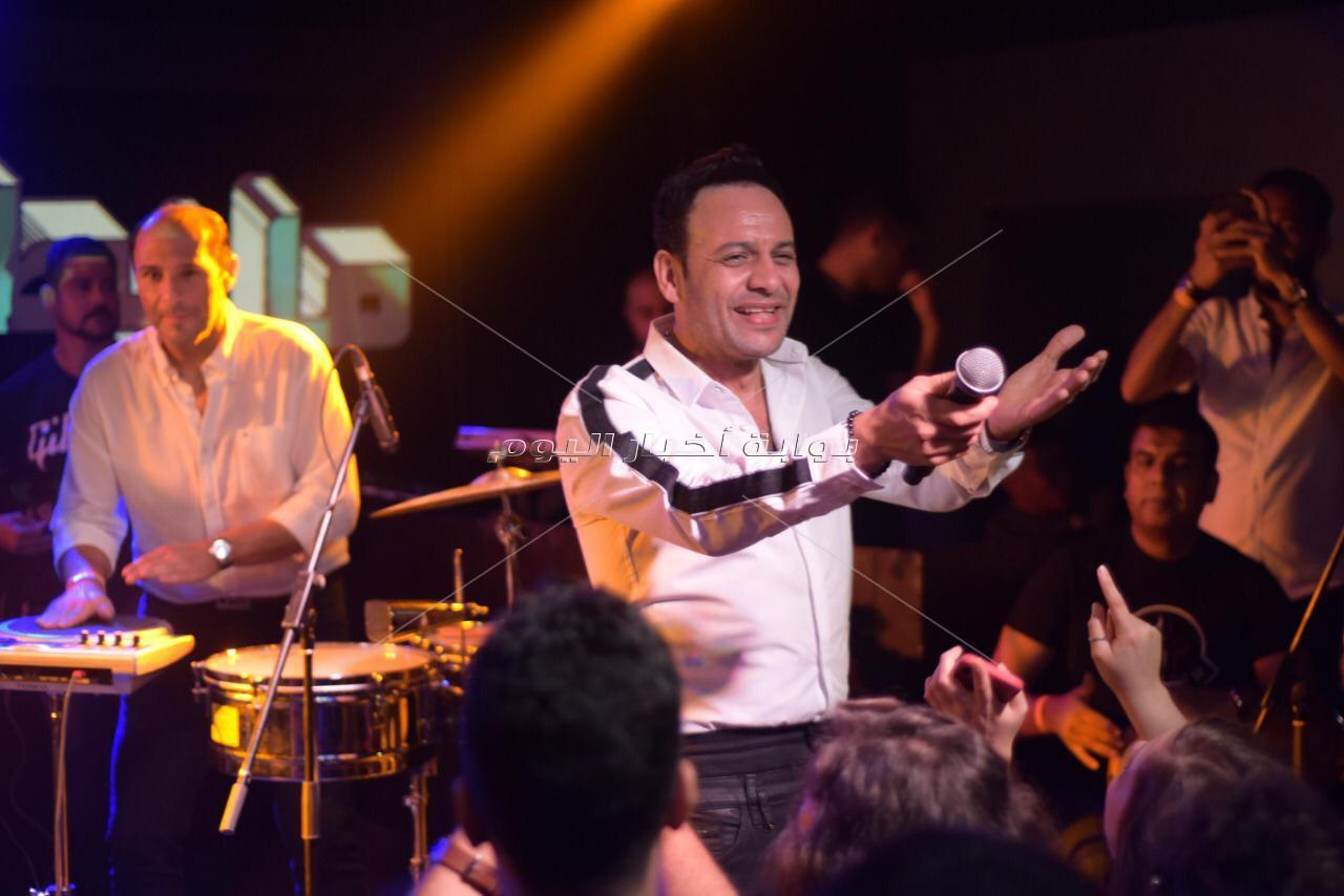 مصطفى قمر يتألق في «cairo Jazz».. ويحتفل مع جمهوره بألبومه الجديد