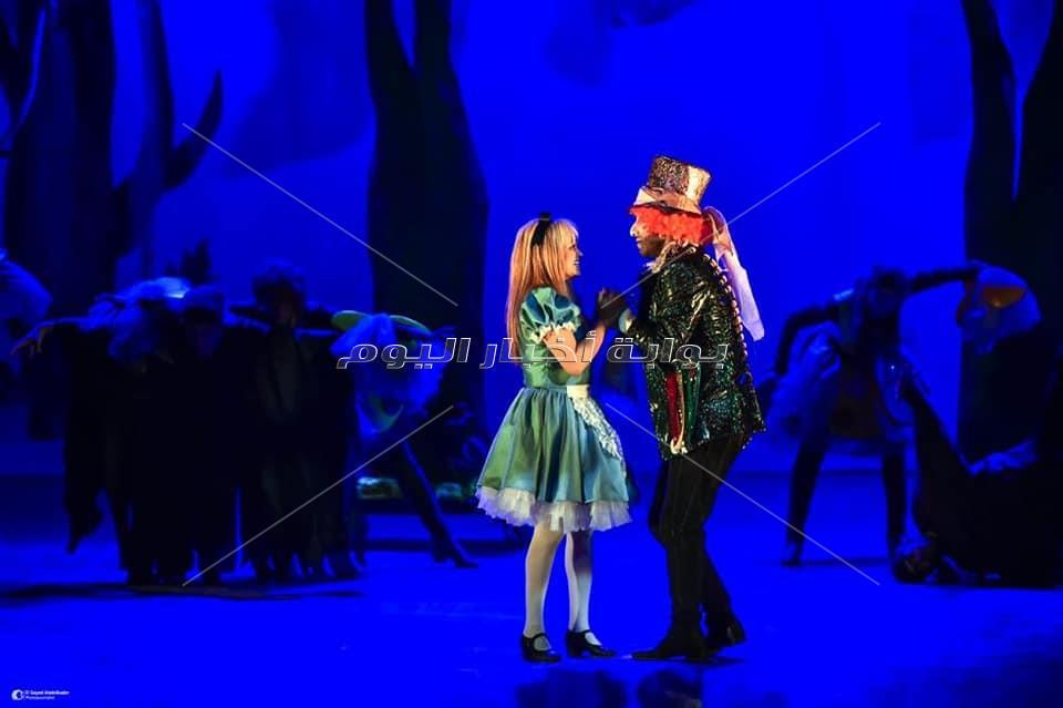 """عودة """"أليس فى بلاد العجائب"""" ثانى أيام العيد بالمسرح"""