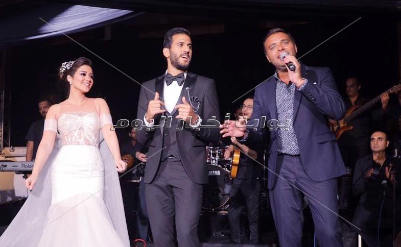 رامي صبري يُشعل زفاف مروان محسن بأغاني ألبومه الجديد