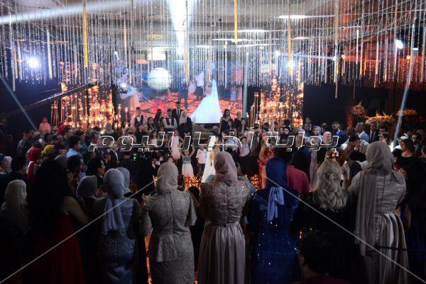حكيم وشيبة والليثي وصافينار يُشعلون زفاف «جهاد ويسرا»