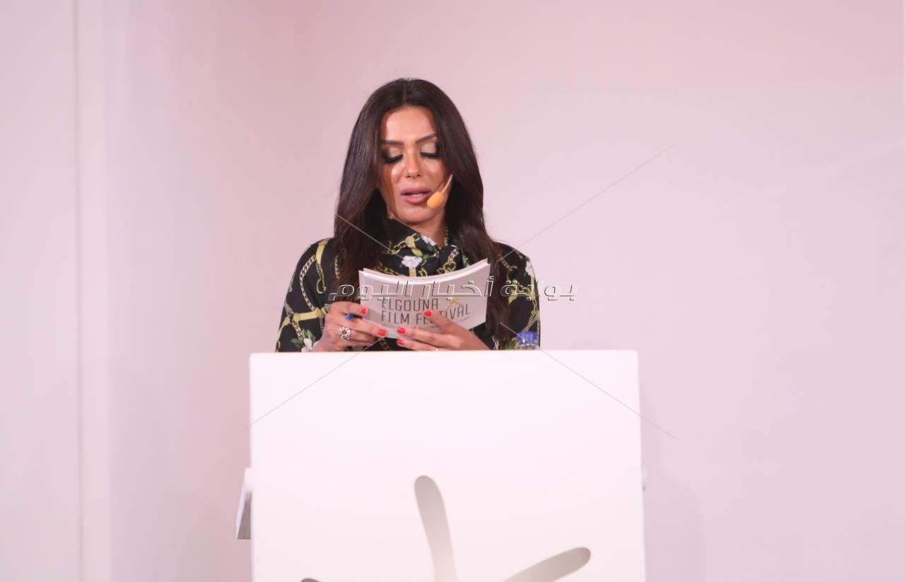 نجوم الفن في مؤتمر الدورة الثالثة لـ«مهرجان الجونة»