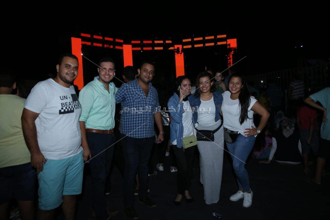 حماقي يتألق بأضخم حفلات الإسكندرية في ختام صيف 2019