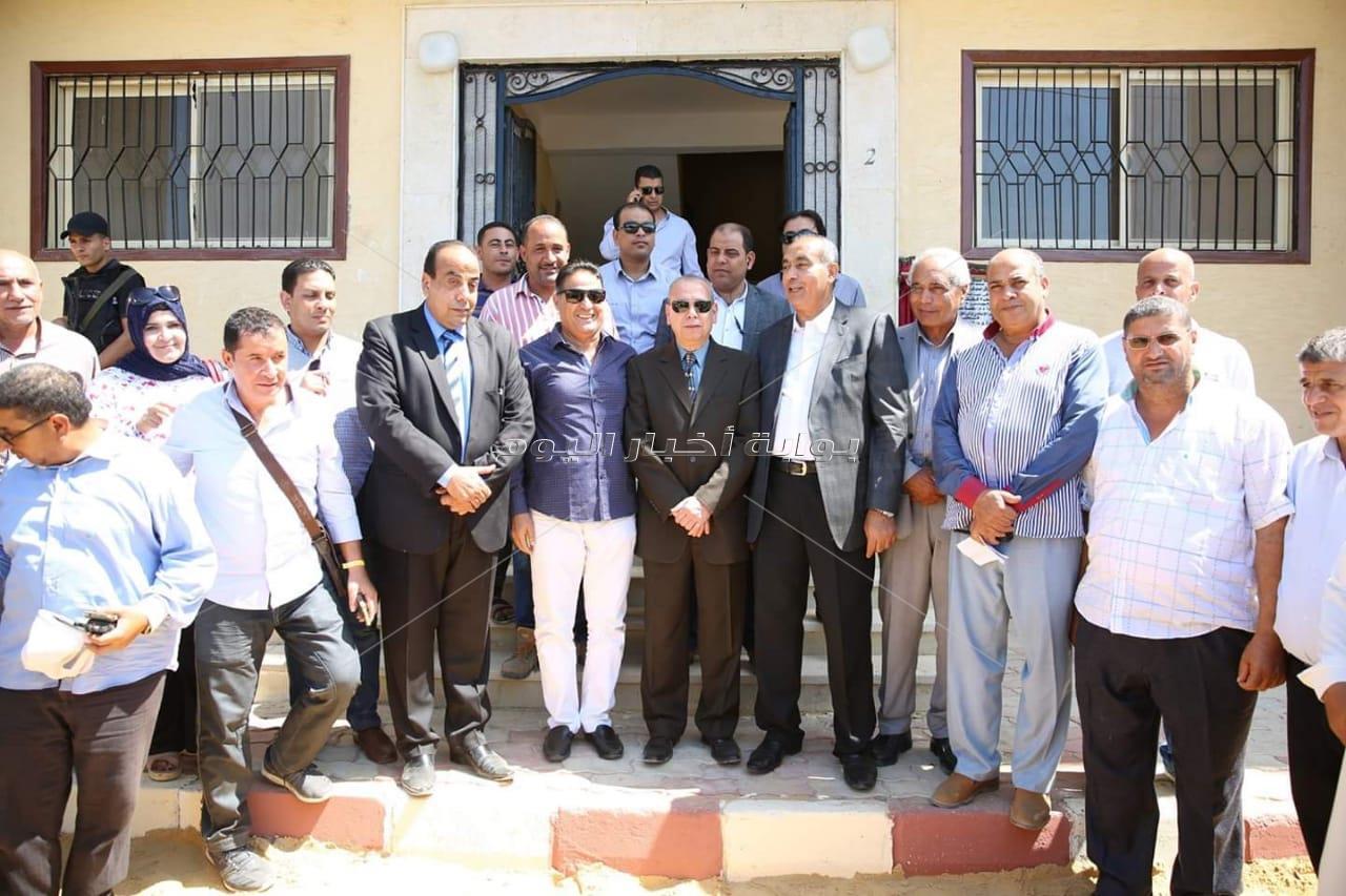 افتتاح مشروعات بتكلفة 36 مليون جنيه فى كفر الشيخ