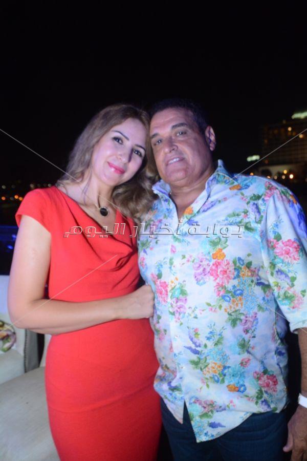 صوفينار وكاريكا وإيناس النجار في عيد ميلاد بشرى