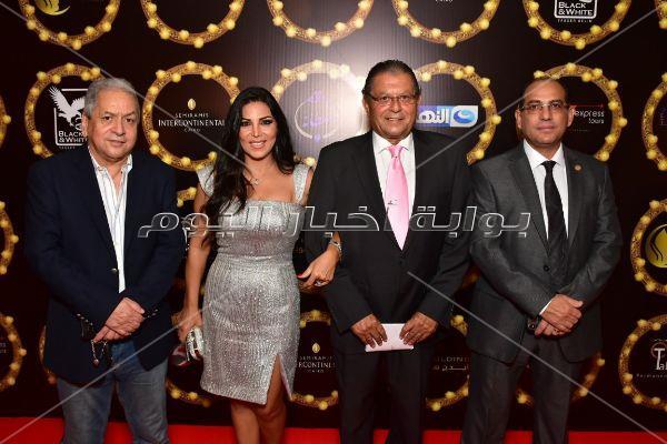 الصور الكاملة لتكريم نجوم الفن بمهرجان الفضائيات العربية