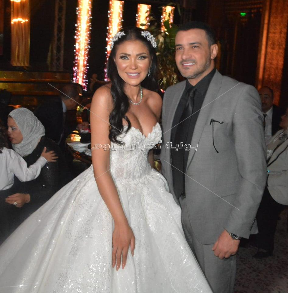 نجوم الفن يحتفلون بزفاف علياء الحسيني