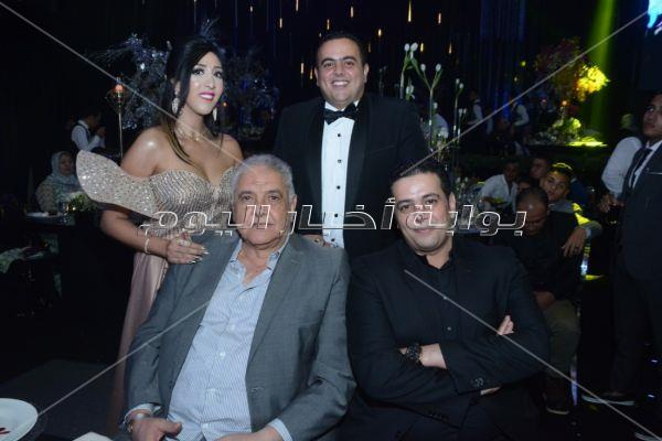 تامر حسني والآ كوشنير يحيان زفاف «عمرو ونورهان»