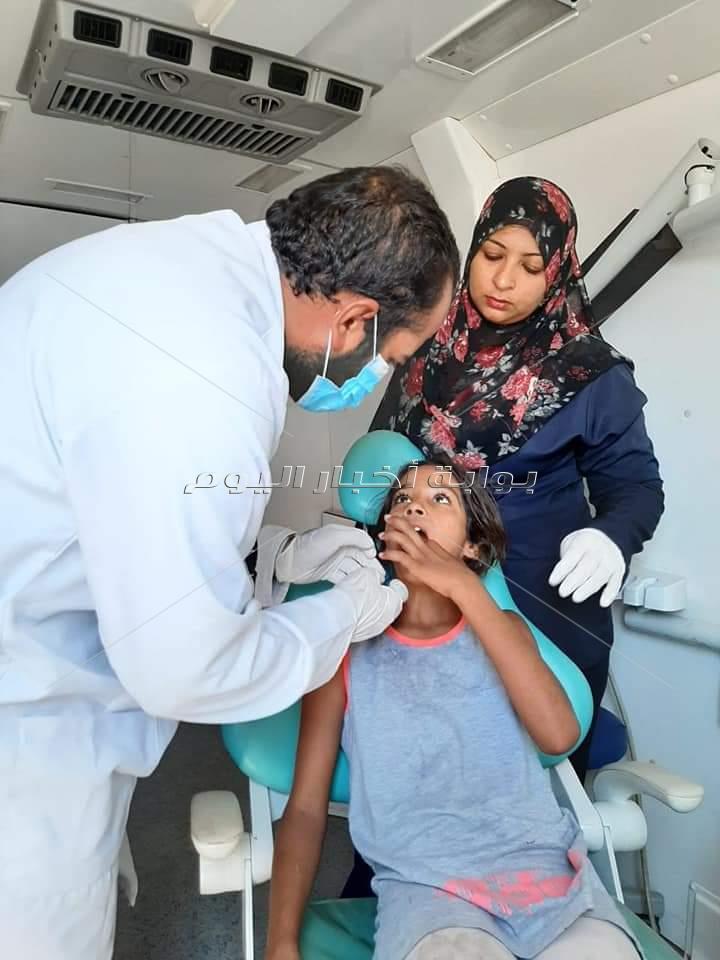 قوافل طبية مجانية الي أودية  مجيرح 1 بدهب وخريزة بشرم الشيخ