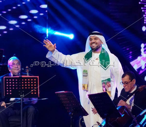 «الجسمي» يحتفل باليوم الوطني السعودي بحفل «دويتو» مع الجمهور