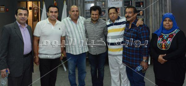 مسعد فودة يشارك بافتتاح أكاديمية ترك السينمائية