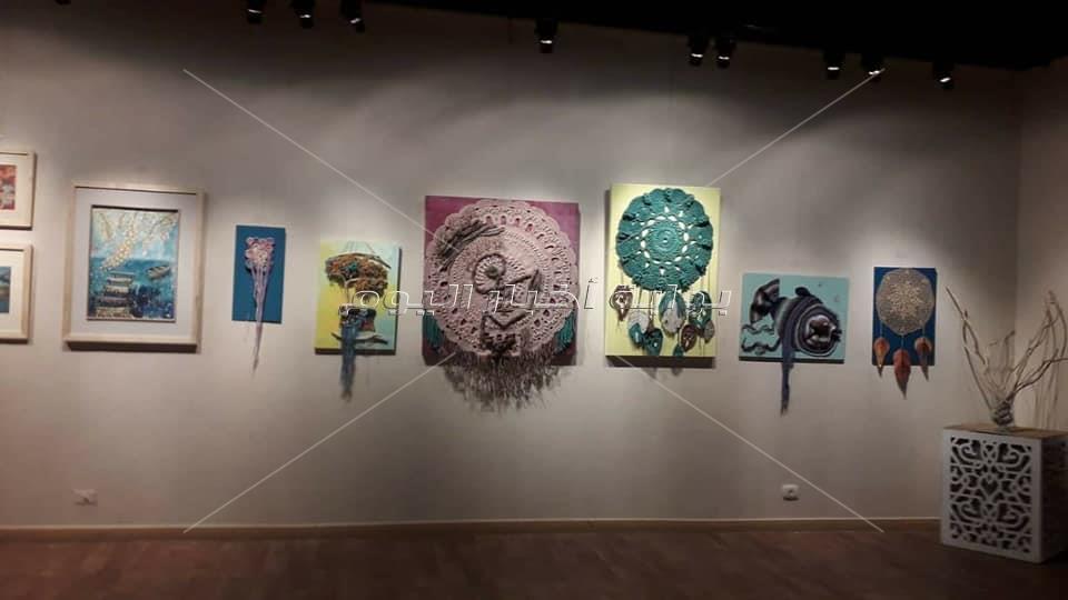 """افتتاح معرض """"حواديت"""" بمركز الهناجر للفنون"""