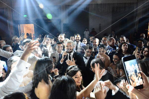 سامو زين يتألق بحفل زفاف «مارينا ومارين»