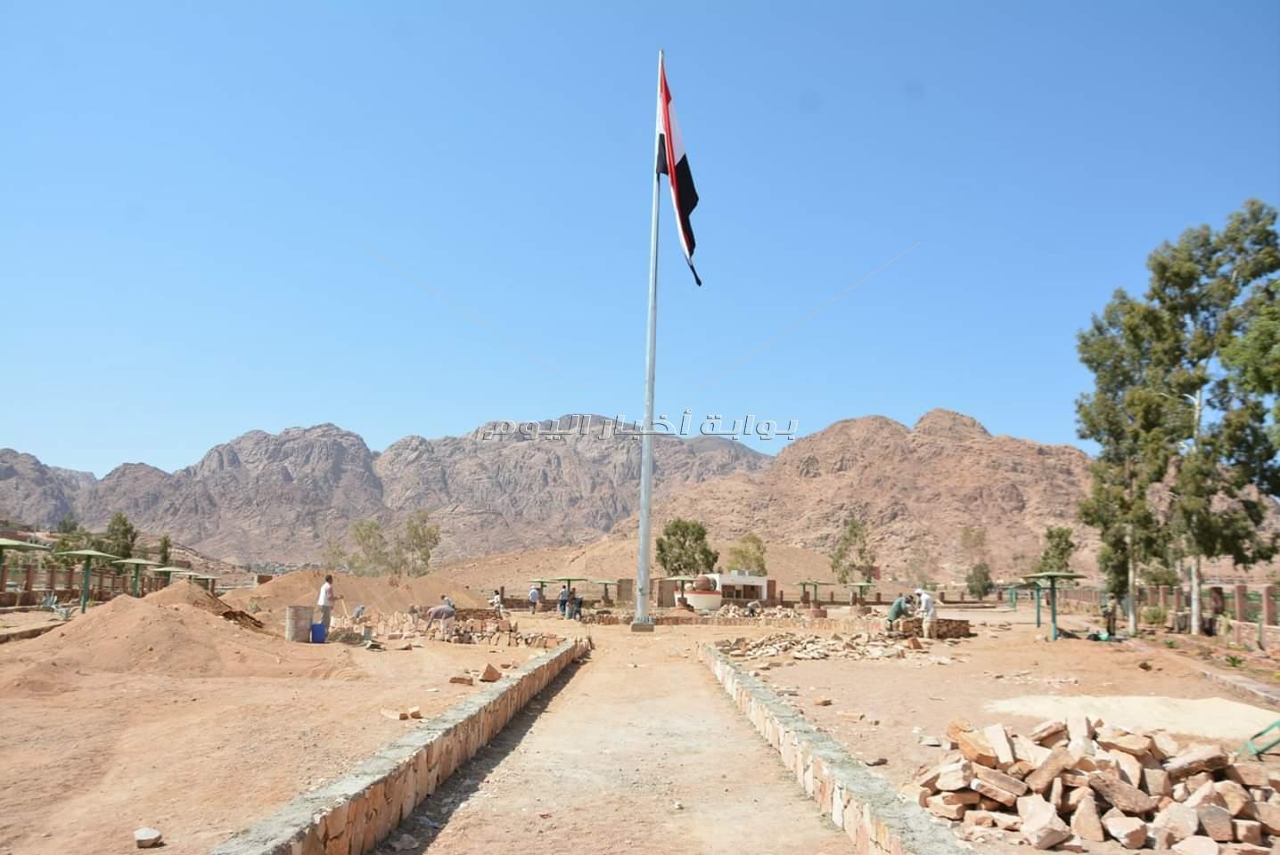 محافظ جنوب سيناء يتفقد الاستعدادات النهائيه لملتقي سانت كاترين