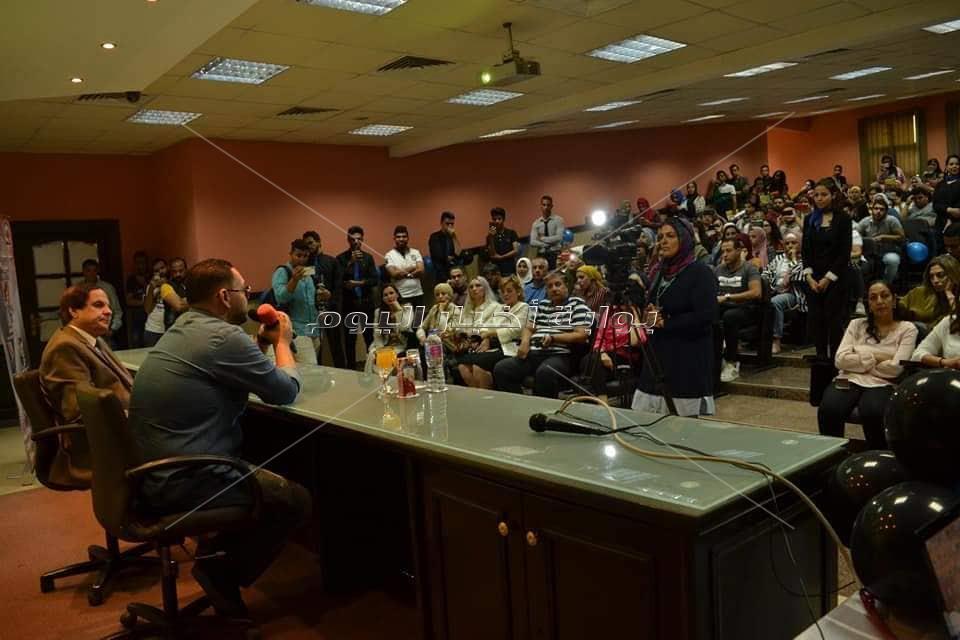 تكريم أحمد رزق في جامعة Mti
