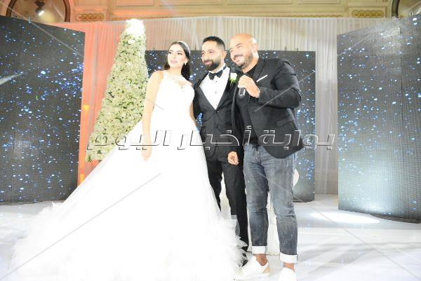 العسيلي والليثي نجما زفاف «إيهاب ومرح»
