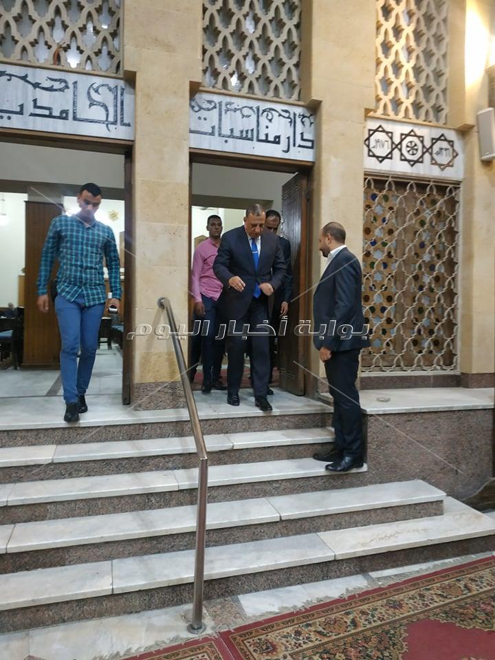 عزاء شقيق محمد البهنساوي بحضور شخصيات عامة وسياسيين وقيادات صحفية وإعلامية
