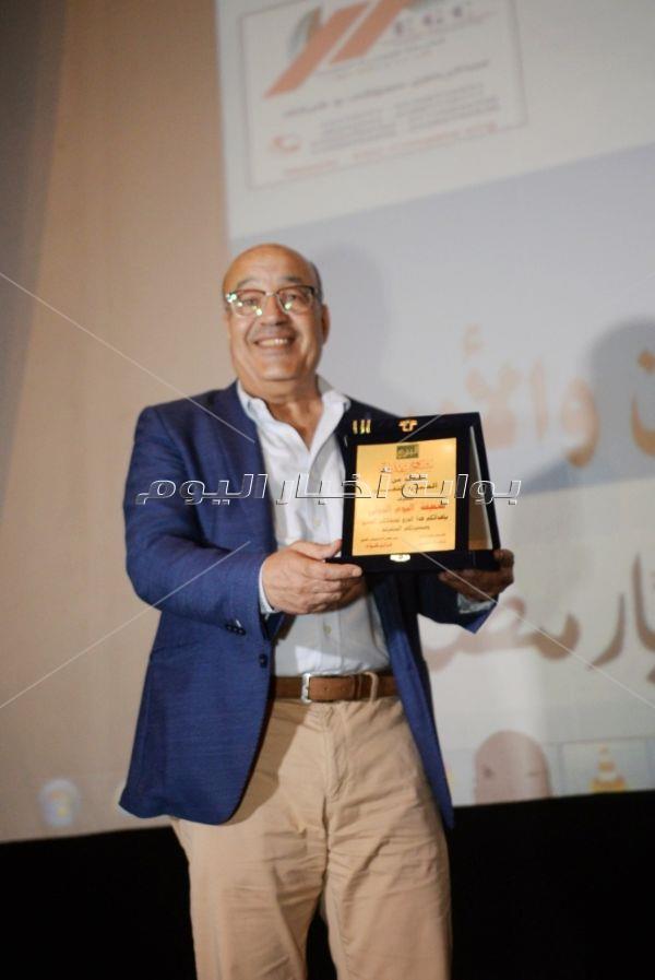 تكريم حجاج عبد العظيم وسماح أنور بمهرجان «اليوم الدولي» بالأوبرا