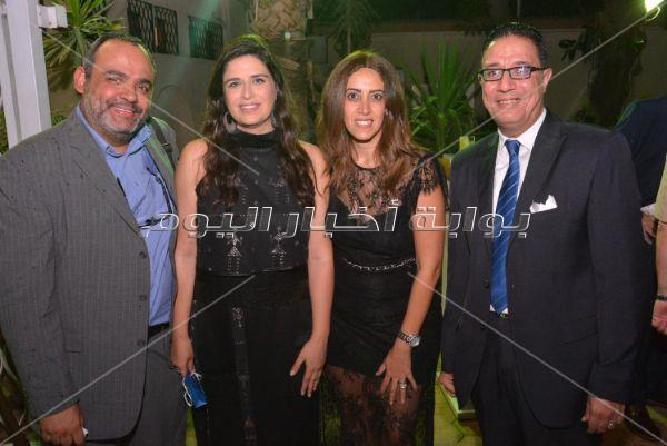محمد ثروت وسمية أيوب وسميرة عبد العزيز يحتفلون بالعيد الوطني للمجر