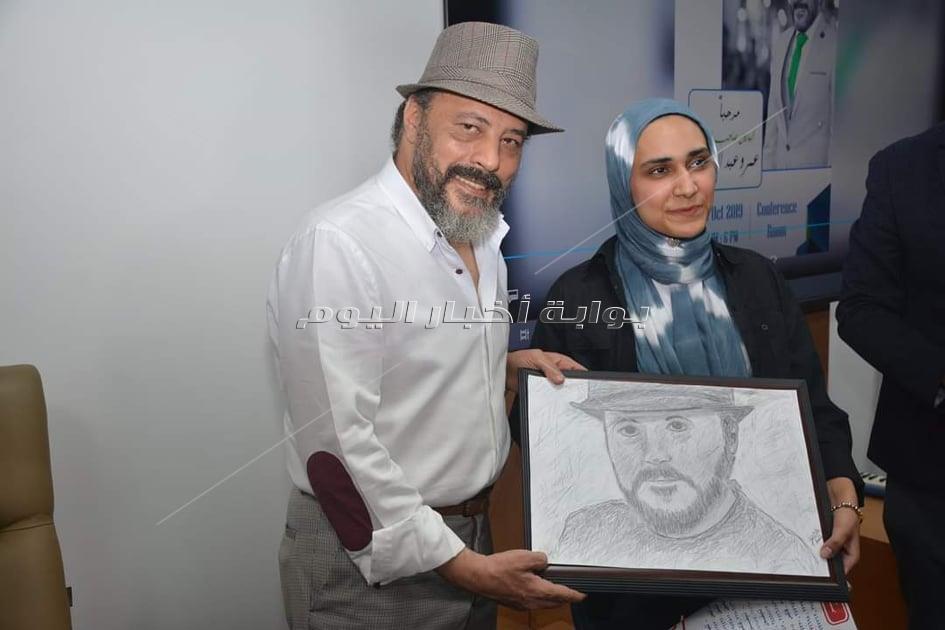 تكريم عمرو عبد الجليل بالأكاديمية البحرية