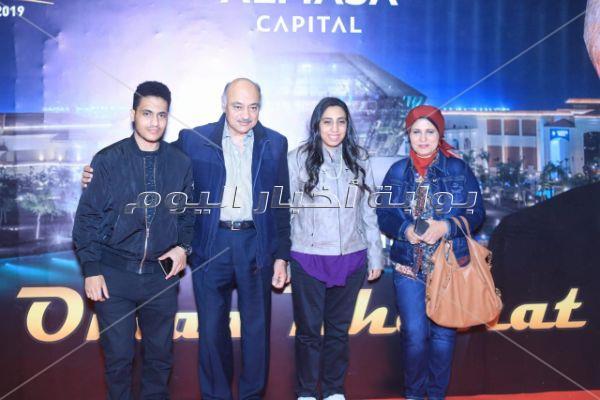 وزراء ومشاهير في حفل عمر خيرت بـ«العاصمة الإدارية»