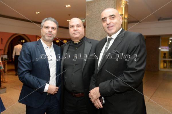 رياضيون في زفاف إسلام أبو المجد.. والصغير وسمسم شهاب نجما الحفل