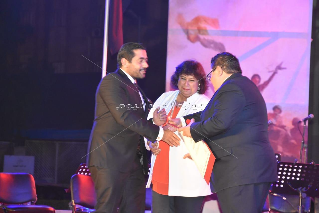 وزير الثقافة تُكرم عز وفلوكس وفراج باحتفالية «نصر أكتوبر»