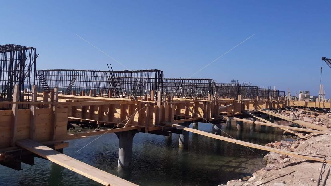 مشروع حماية الشواطئ حول قلعة قايتباي التاريخية