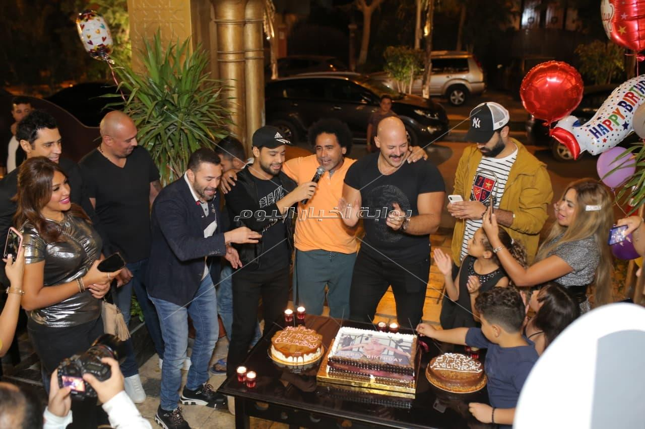 نجوم الفن يحتفلون بعيد ميلاد أحمد التهامي