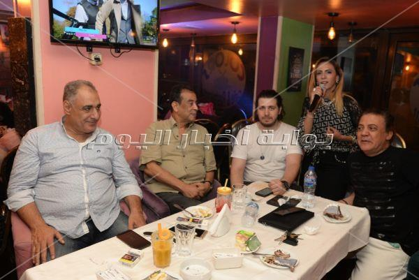 ياسر عدوية وميسرة يحتفلون بعيد ميلاد رائف الأبيض